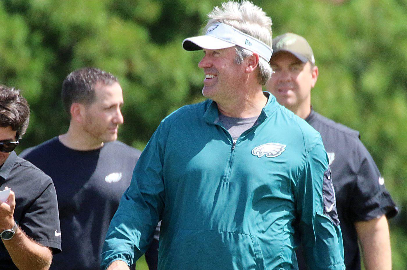Eagles practice observations: Jake Elliott shortens the day; Darren Sproles/Nelson Agholor handling kick returns