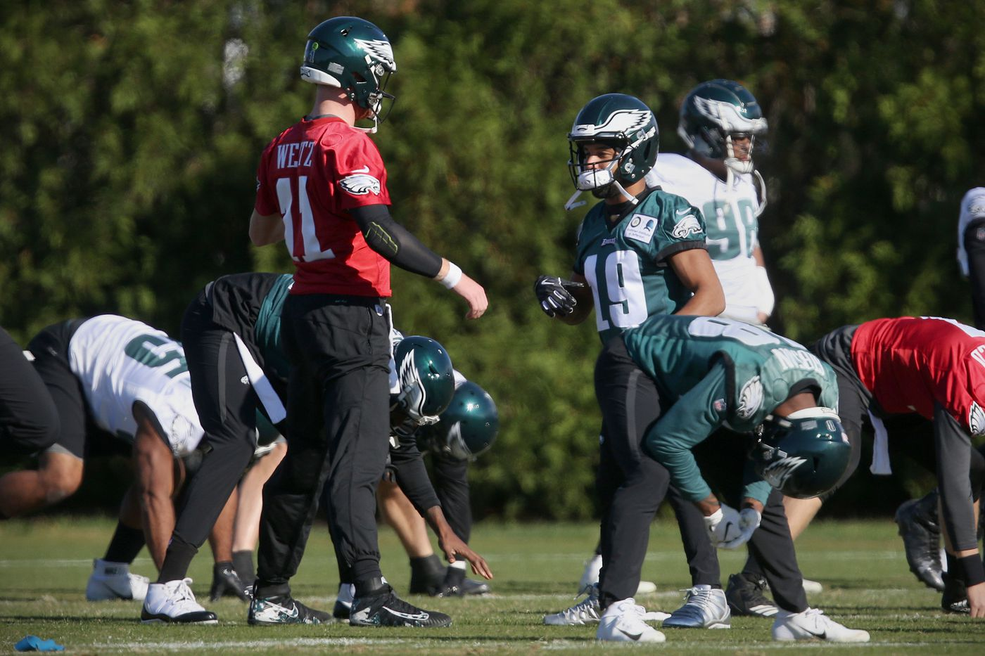 What to watch in Eagles-Cowboys   Early Birds