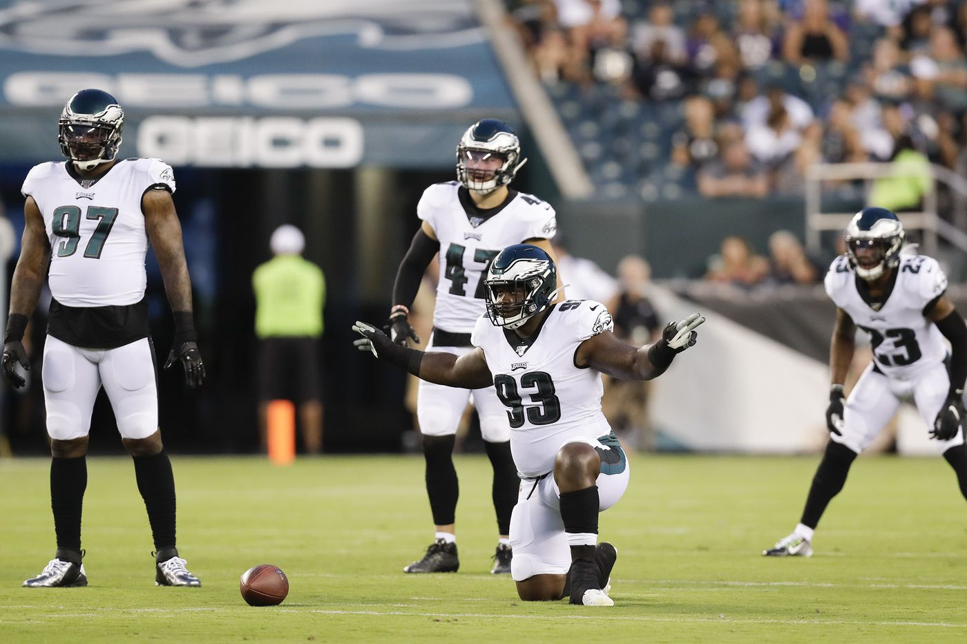 Timmy Jernigan and Eagles' defensive line depth will be tested, with Malik Jackson gone; Akeem Spence signed