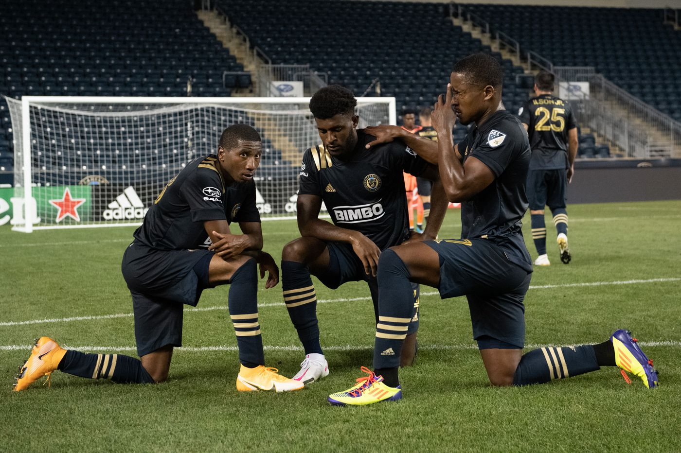 Mark McKenzie stands out on and off the field in Union's win over Red Bulls