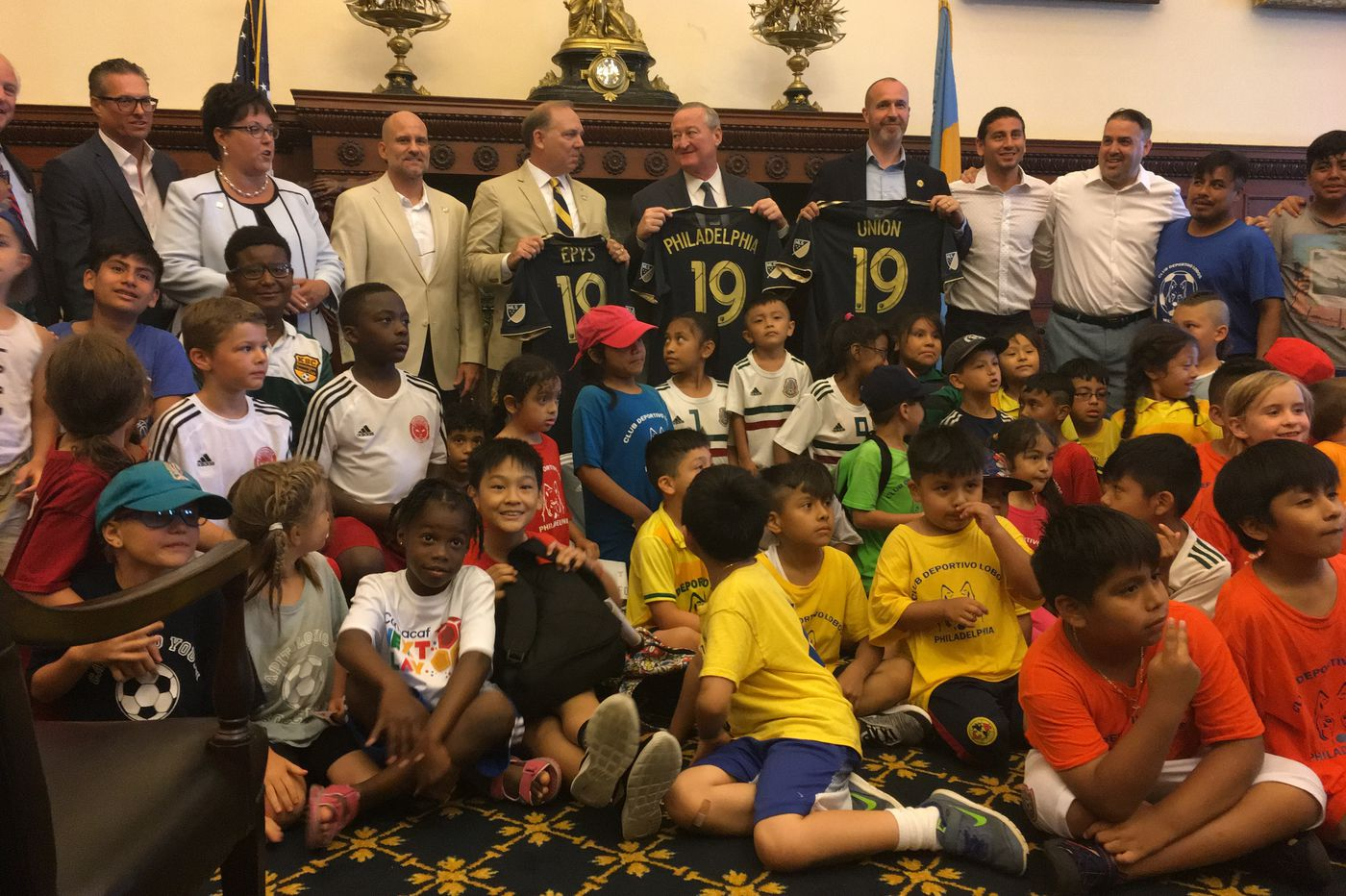 Union teams up with city to build 15 soccer mini-pitches and 2 new fields across Philly