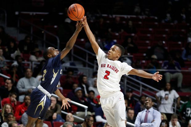 Coatesville guard Jhamir Brickus is following in the footsteps of NBA star Richard Hamilton
