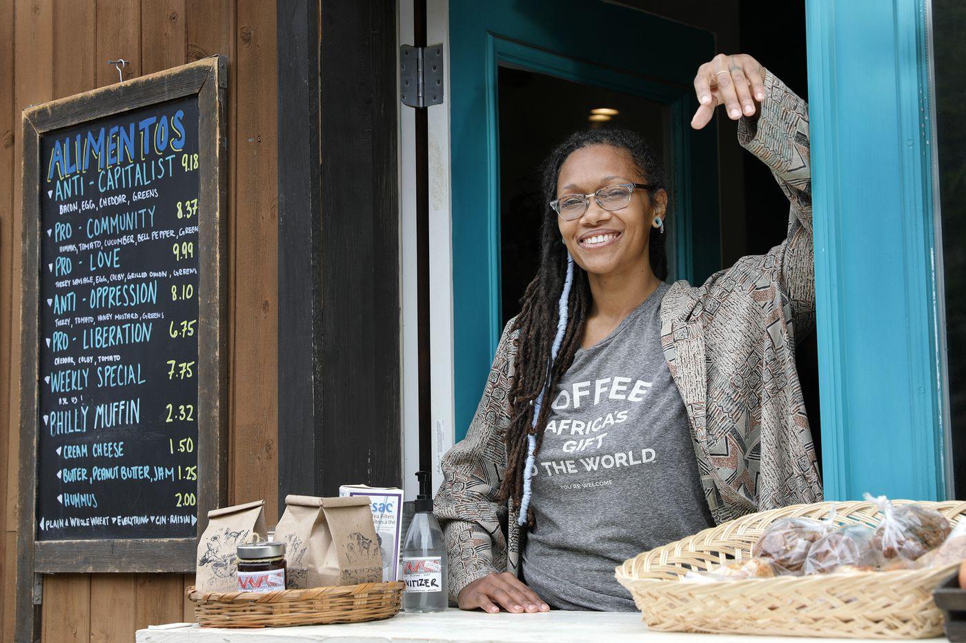 Portrait of a Pandemic: E. Kensington cafe owner finds a window to business survival