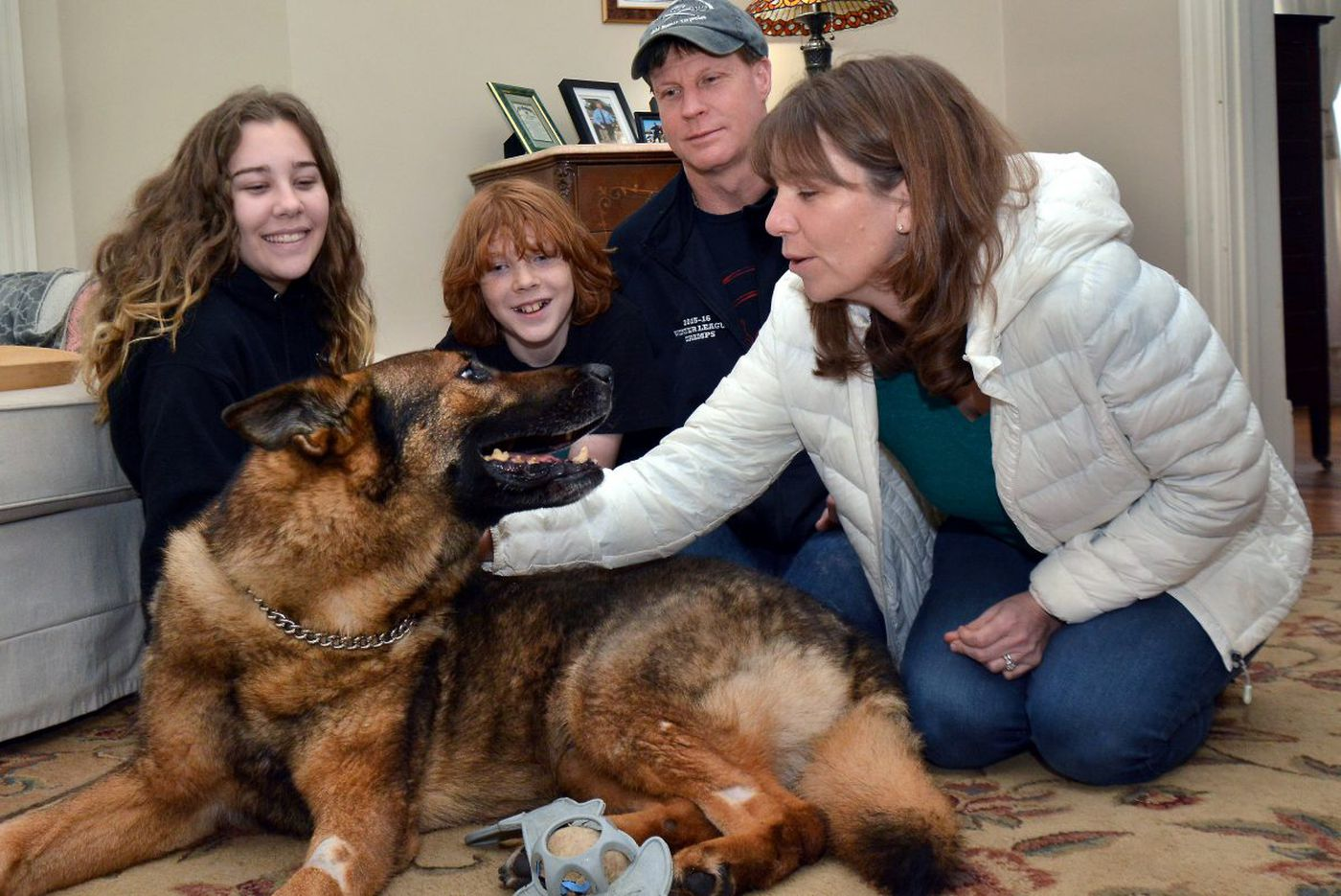 SEPTA K-9 Abal able to return home. Don't sweat the why and how | Stu Bykofsky