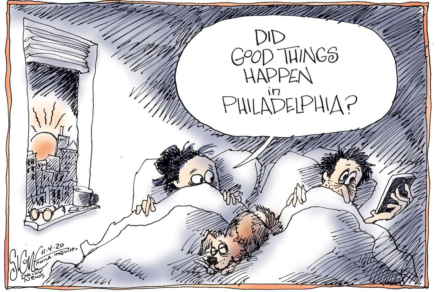 Political Cartoon: Who won the 2020 presidential election?
