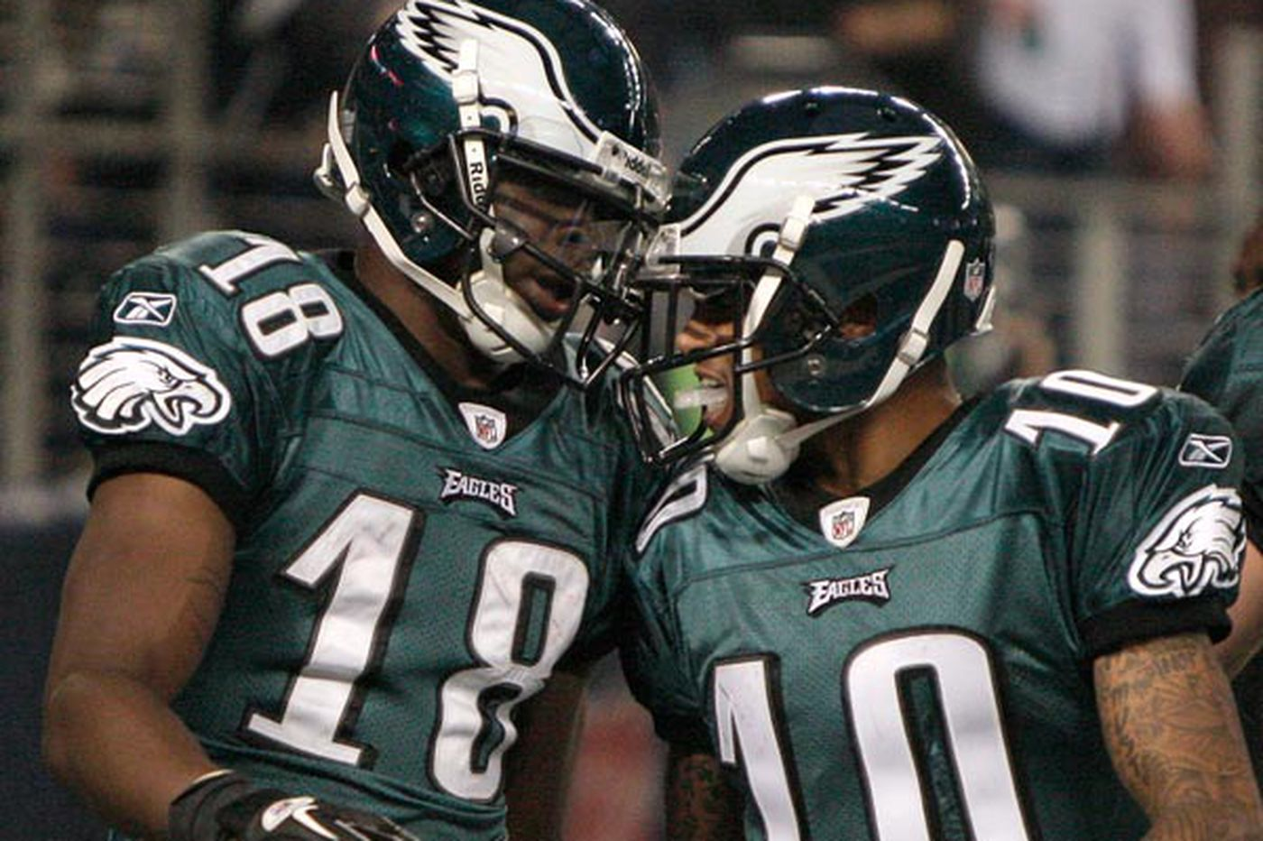 Eagles Notes: Maclin says he and DeSean still get along fine