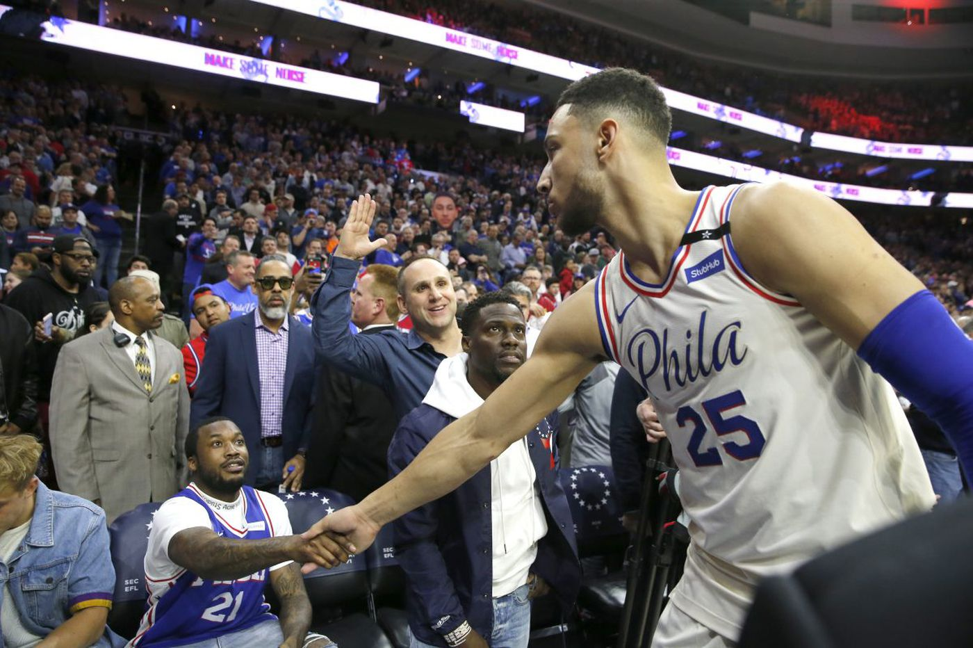 Ben Simmons keeps his cool in chippy Sixers-Heat Game 5 battle