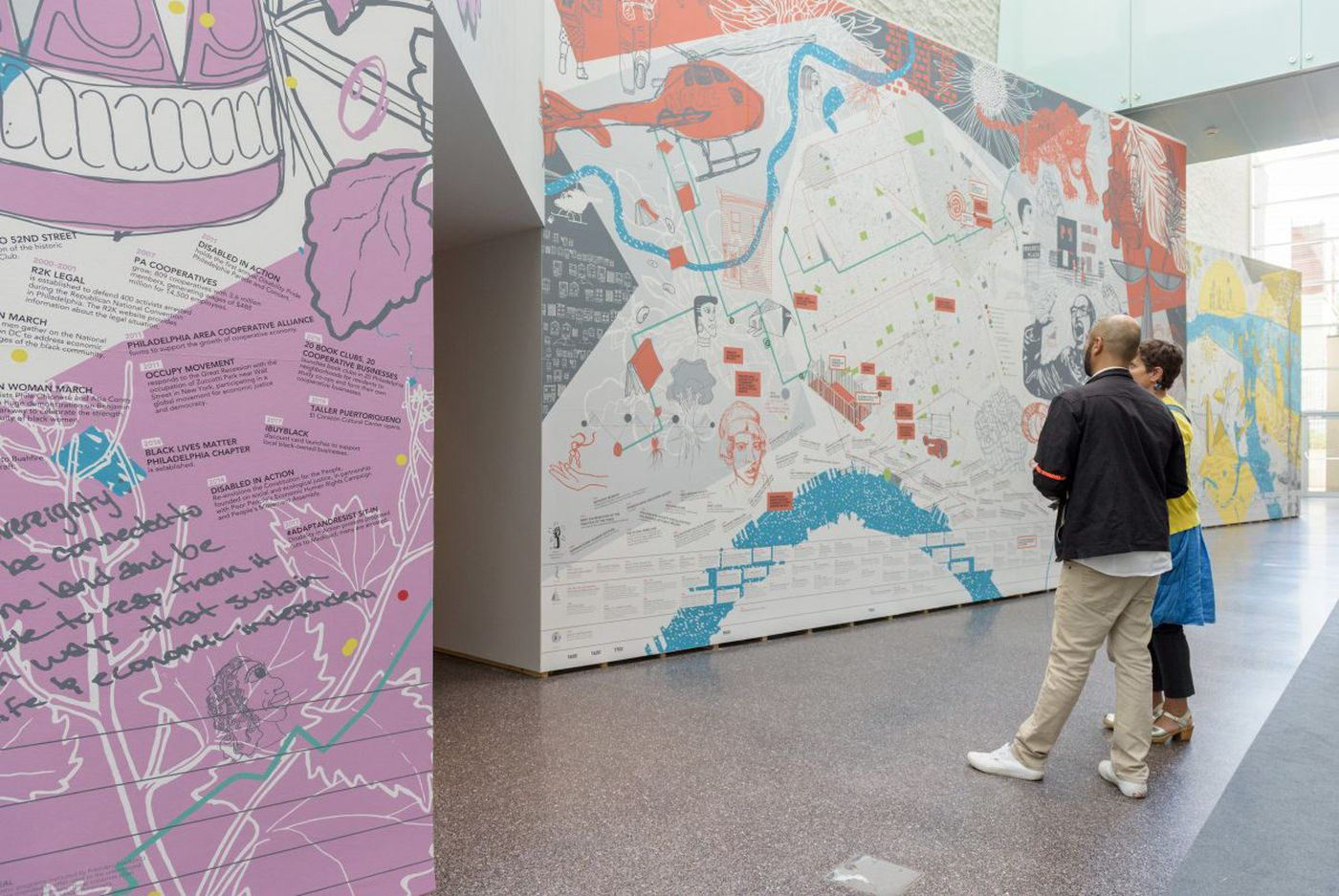 Pathbreaking Art Museum show is 'kind of a mess,' like Philly
