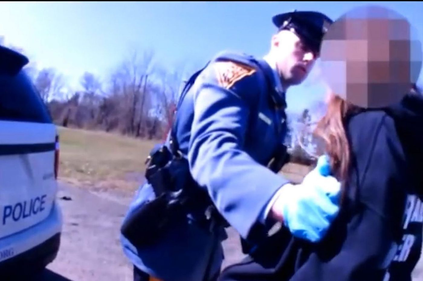 A roadside strip search in N.J. draws protest and legal action. How far can an officer go?