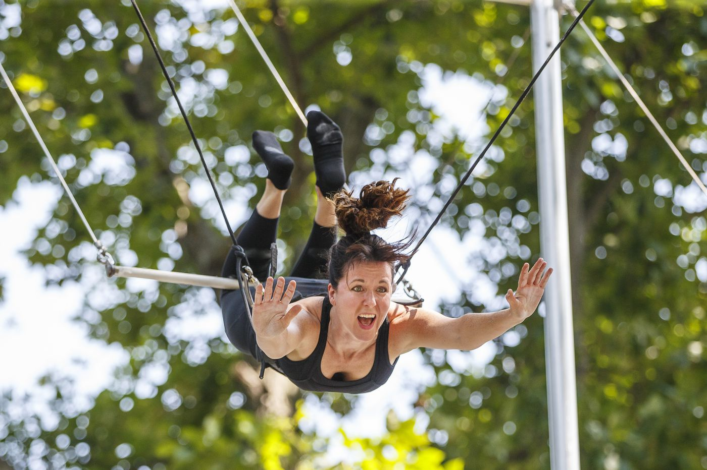 Want to learn flying trapeze? The Philadelphia School of Circus Arts is offering lessons