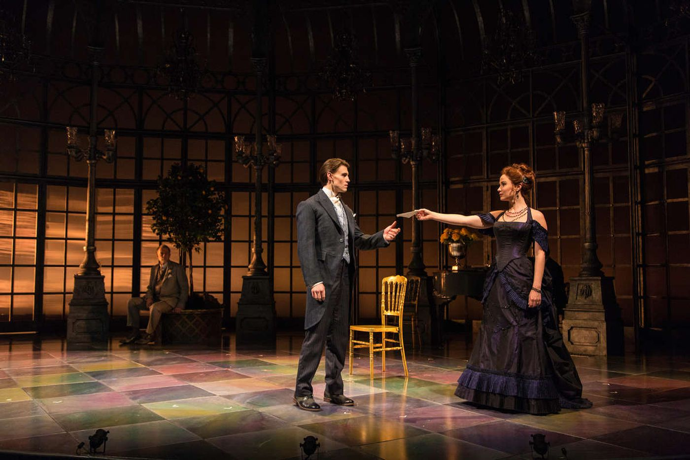 'Age of Innocence' at McCarter: Opulent, old fashioned, and vacant