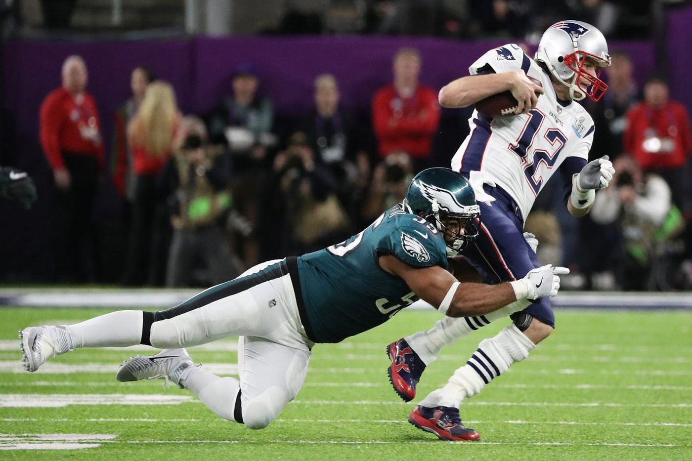 Brandon Graham saved the day for Eagles in Super Bowl LII win over Patriots