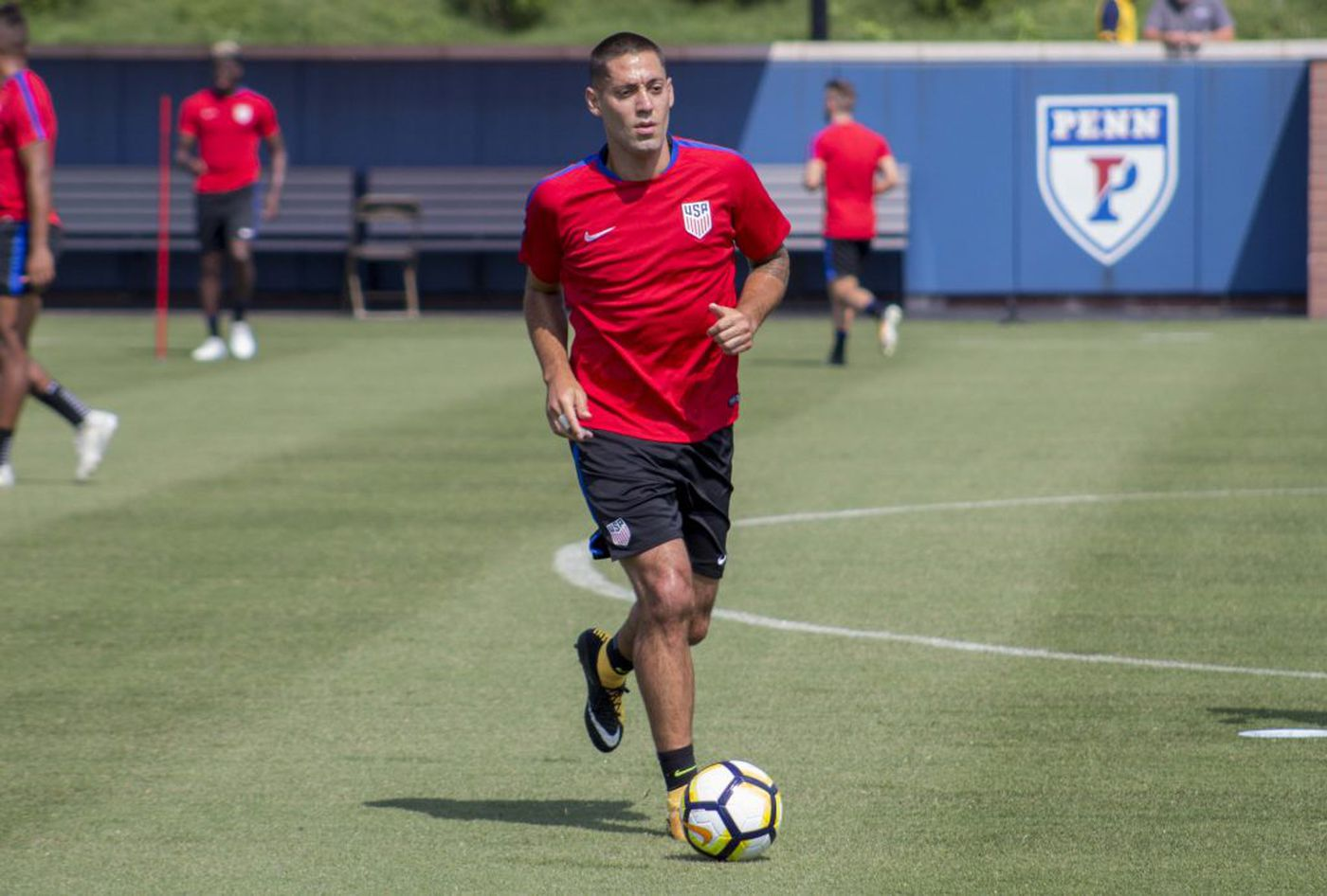 U.S. stars arrive in Philly ahead of Gold Cup quarterfinals
