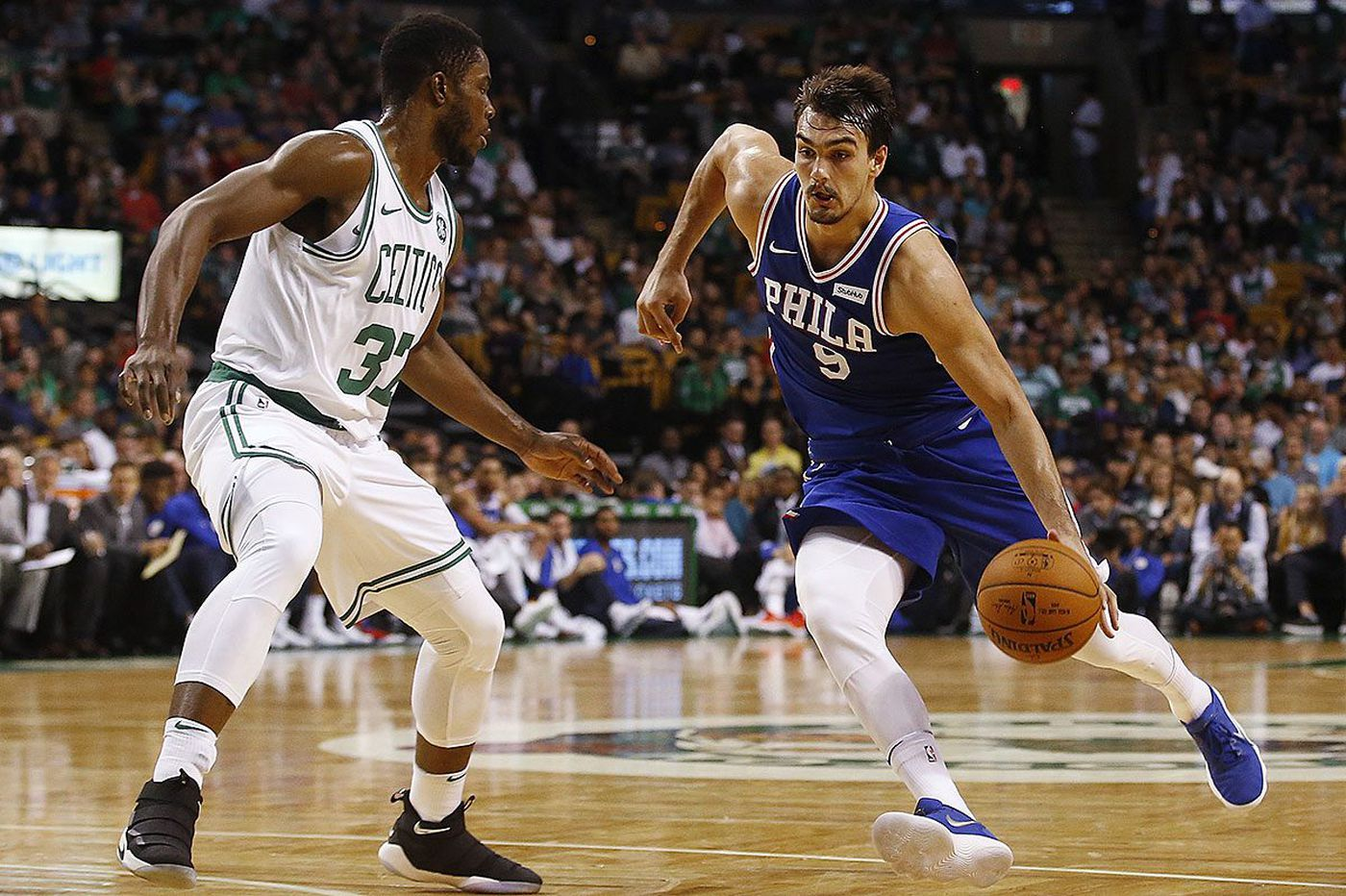 Sixers' Dario Saric knows he'll need to find groove off bench