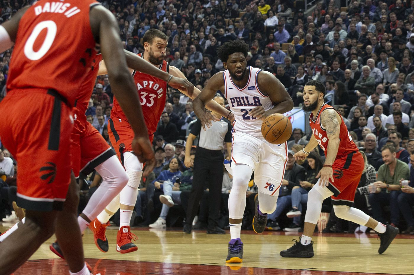 Sixers' Joel Embiid available, gets chance to redeem himself vs. Toronto Raptors