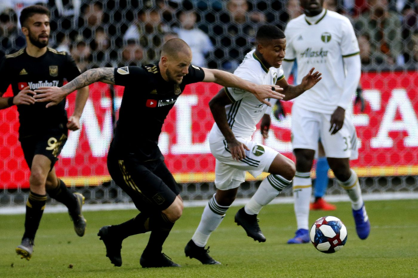 LAFC's Jordan Harvey faces a Union team very different from the one he played for