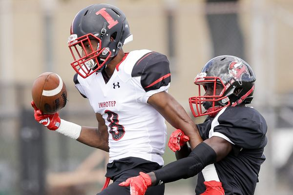Imhotep Charter wide receiver Yusuf Terry commits to Baylor