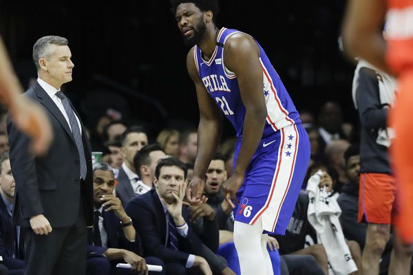 Joel Embiid's torn finger ligament raises several big questions for Sixers | David Murphy