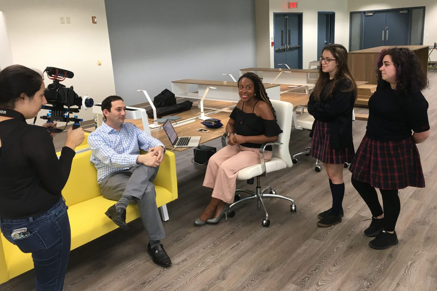 String Theory trades free start-up work spaces for student engagement