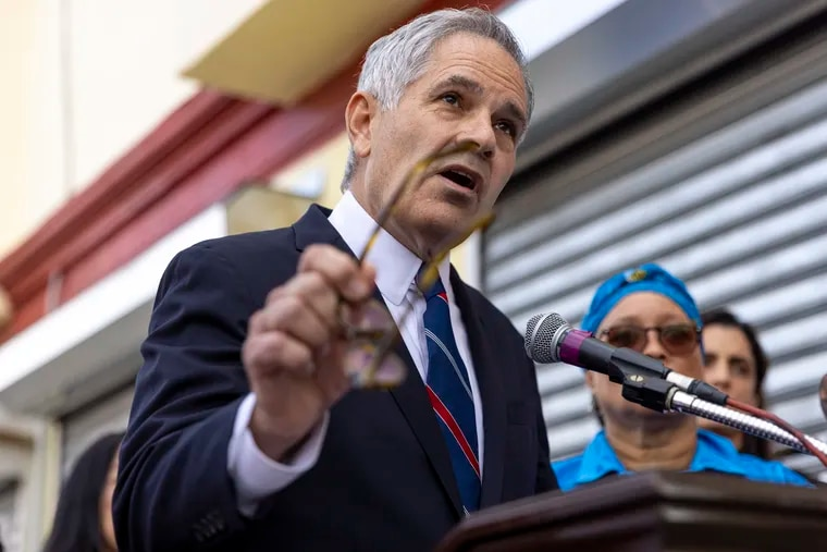District Attorney Larry Krasner in a file photo.