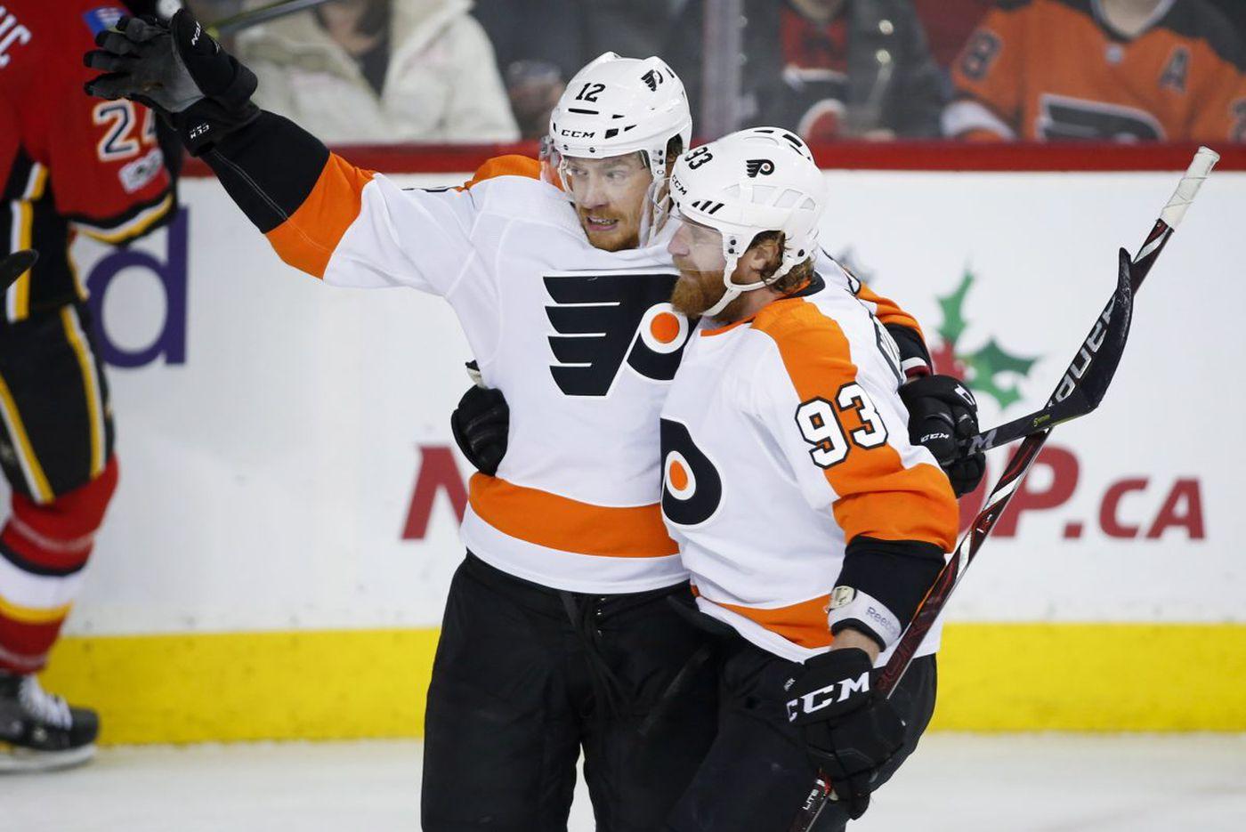 Michael Raffl, Flyers find spirit of season with 3-game winning streak