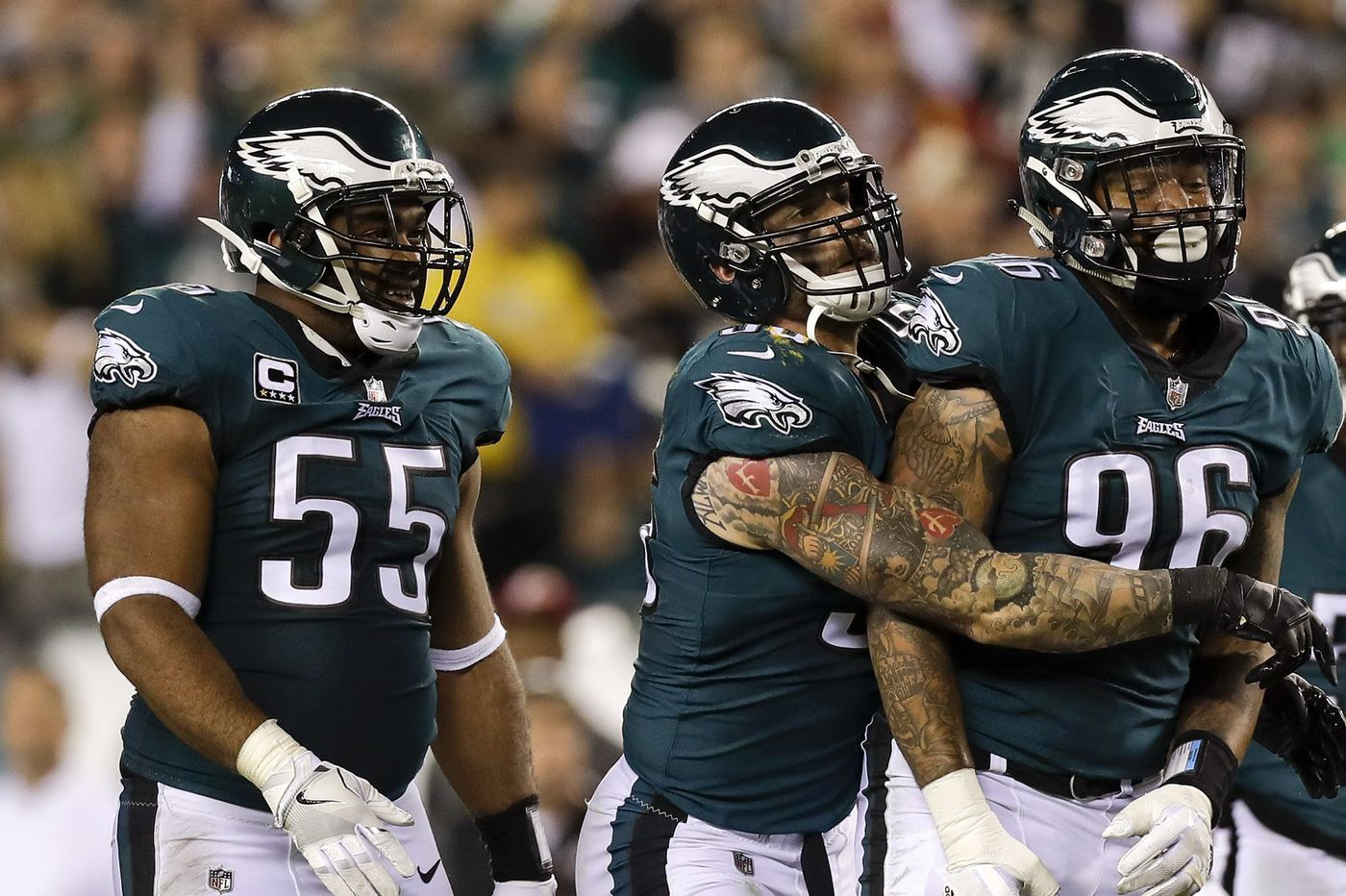 Did the Eagles' offseason additions improve their defensive line?
