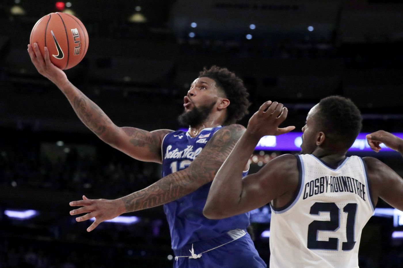 No. 10 Villanova and No. 12 Seton Hall, the Big East's top two teams, to meet in front of a sellout crowd