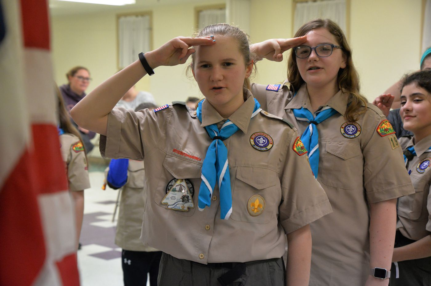 First all-girl Boy Scout troop forms in Chester County