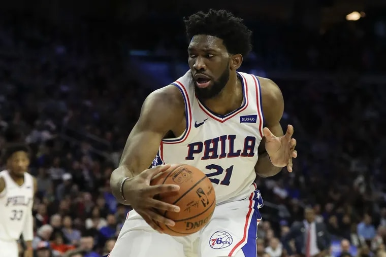 Joel Embiid will look to bounce back from a season-low 4-for-8 shooting on Sunday when the Sixers travel to Indiana to face the Pacers on Wednesday.