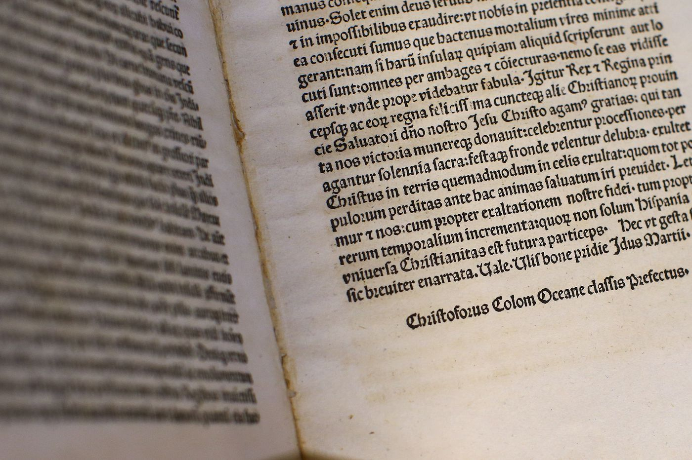 Rare copy of a Christopher Columbus letter stolen in Venice is recovered by Delaware authorities