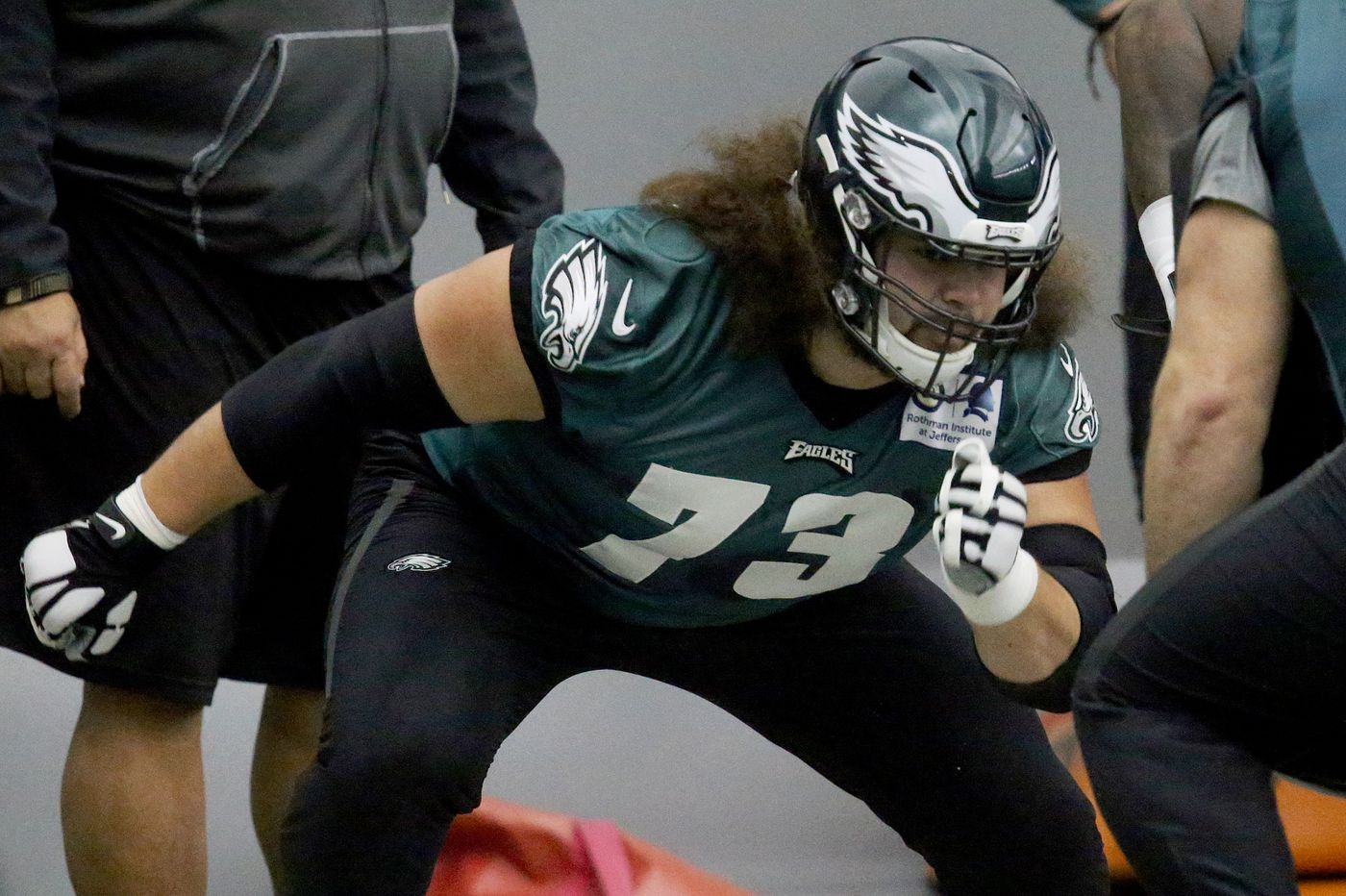 Eagles' guard Isaac Seumalo glad to be back in the swing of things for playoff run