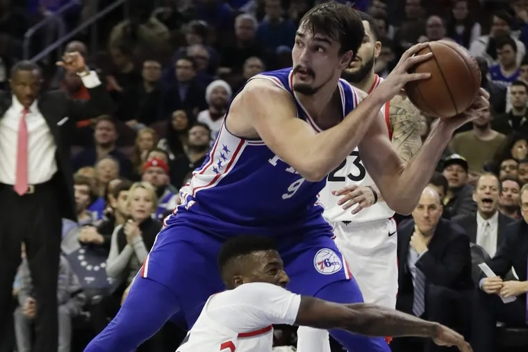 """""""We need to come on the court and play dirty, play tough,"""" Dario Saric said after the Philadelphia 76ers' loss to the Toronto Raptors."""
