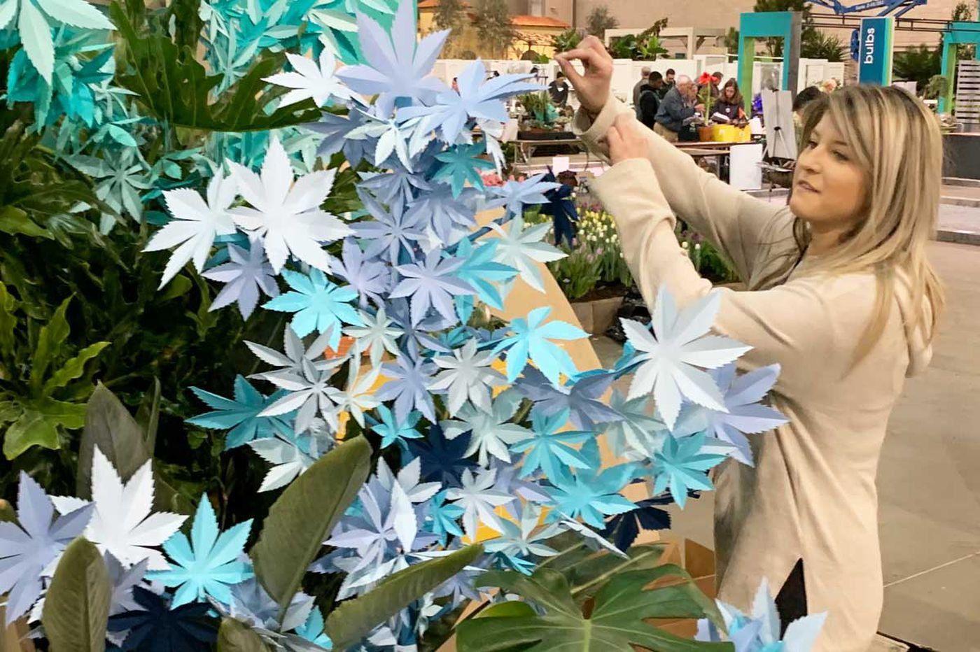 Spotlight is on weed at this year's Philadelphia Flower Show