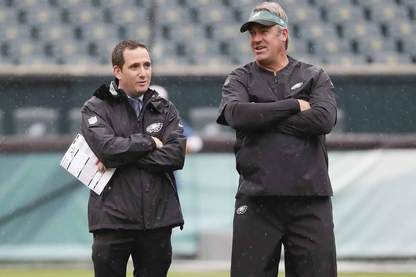 Running back is a problem, but Eagles don't need to pay a premium to address it | David Murphy