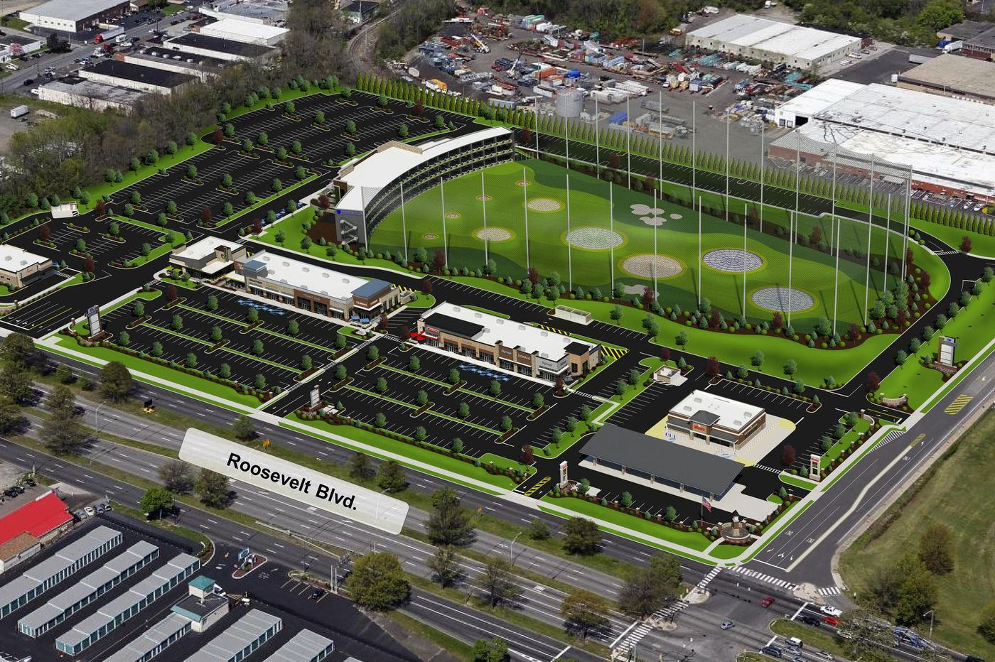 Topgolf entertainment complex planned at former Nabisco site in Northeast Philly