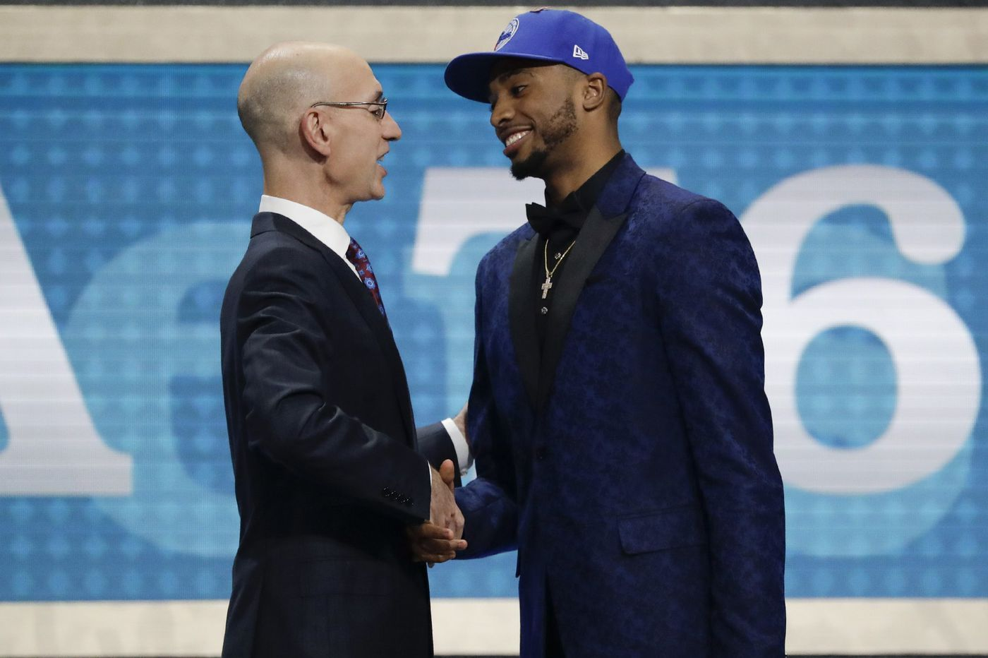 Mikal Bridges picked by Sixers, then traded to Phoenix for Zhaire Smith