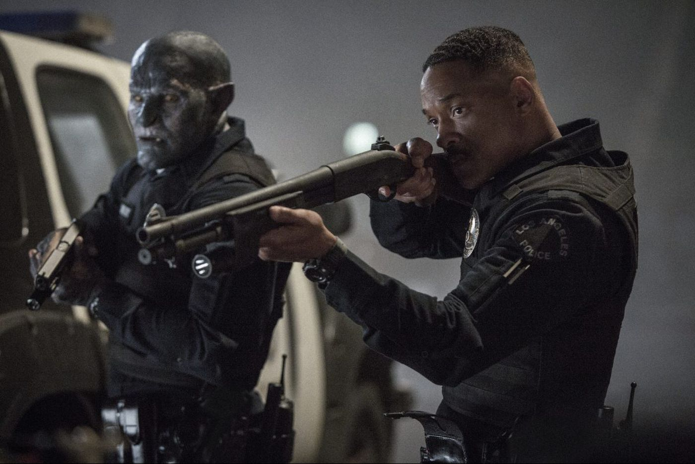 Will Smith's 'Bright,' Netflix's attempt at a blockbuster, goes for woke - and falls flat