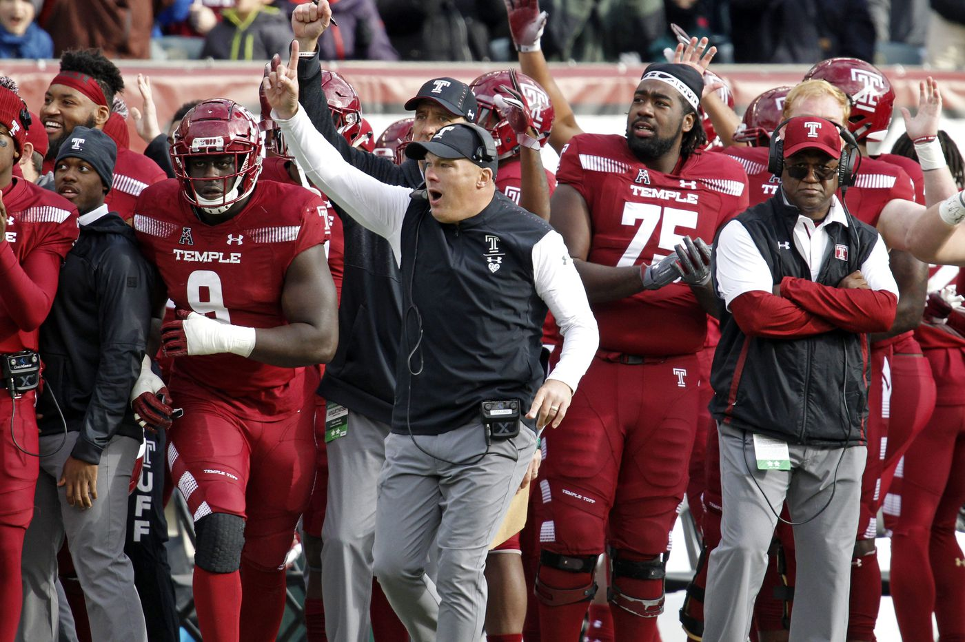 What Geoff Collins is saying heading into Temple's regular-season finale vs. UConn