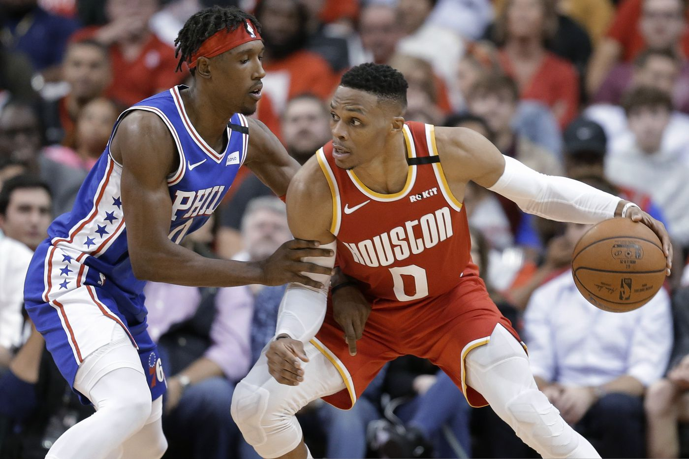 Rockets hand Sixers their fourth straight loss