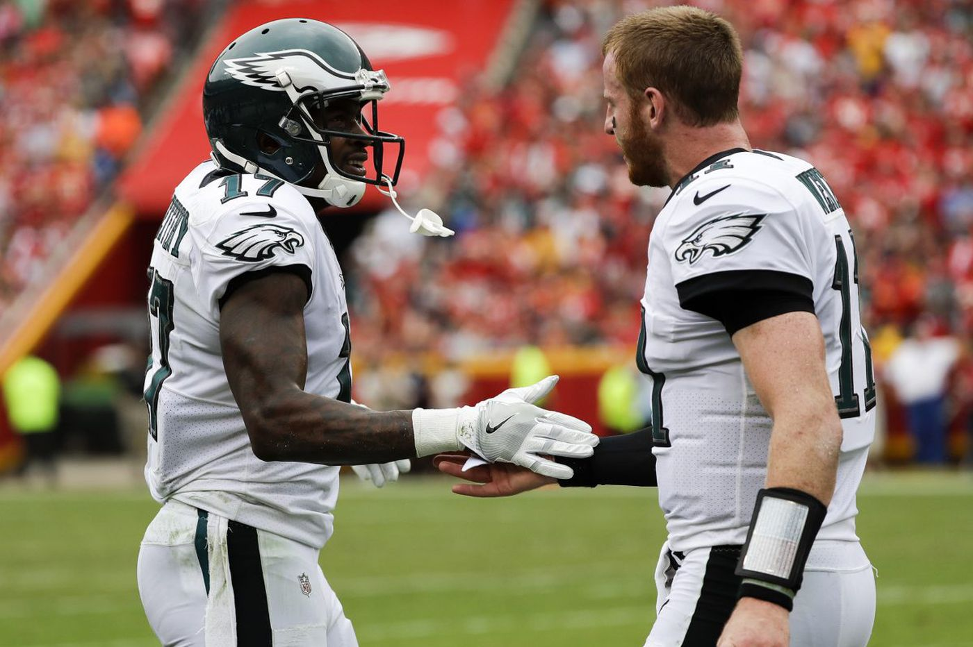 Alshon Jeffery first offered an upgrade for Carson Wentz; now he provides stability