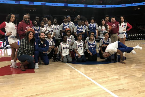 Sixers give youngsters from Boys and Girls Clubs a taste of the NBA