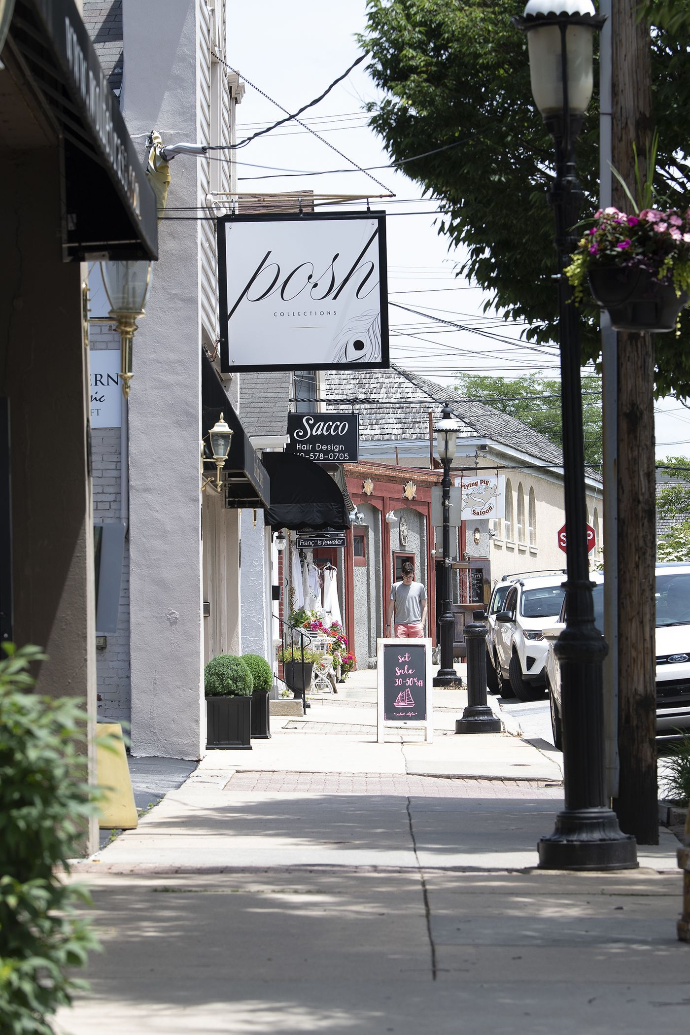 Residents praise the juxtaposition of old and new on Malvern's King Street.