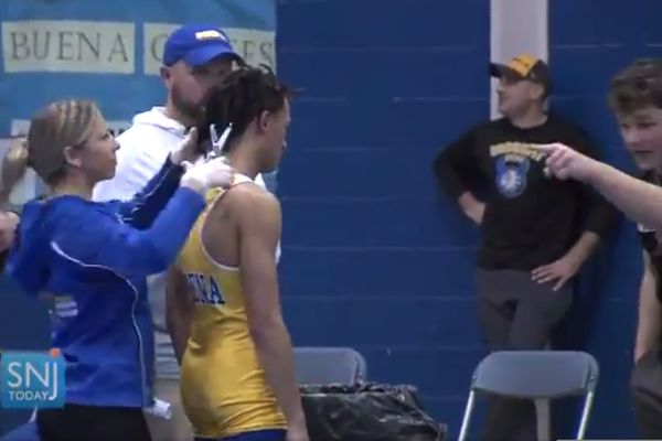 South Jersey wrestling referee gets two-year suspension for viral hair-cutting incident