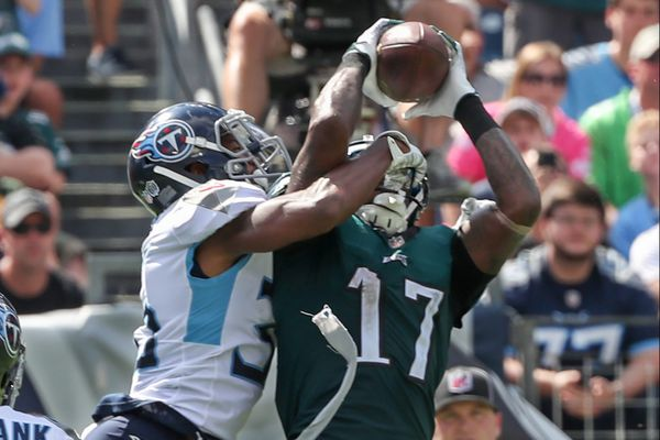 Alshon Jeffery's amazing return overshadowed by Eagles' collapse
