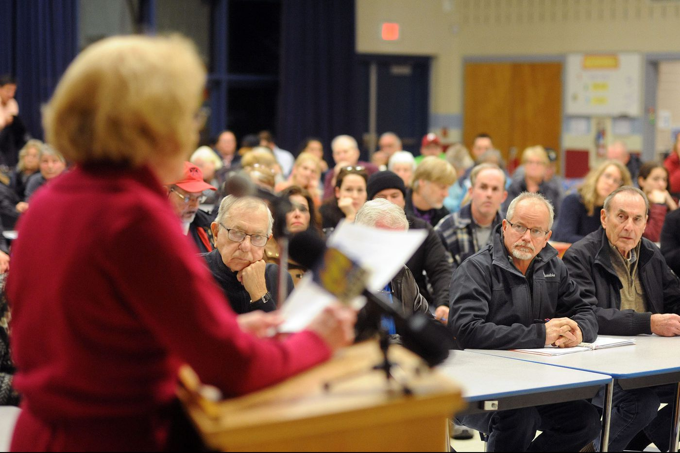 Upper Bucks residents lob pipeline complaints at DEP hearing
