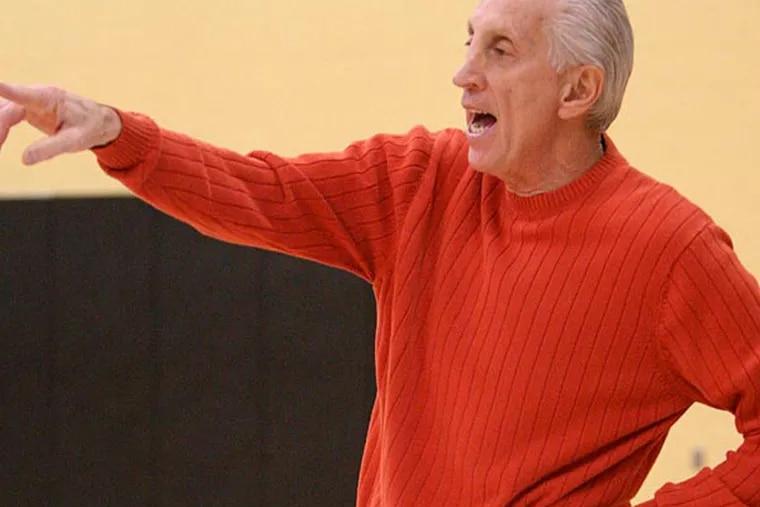 Former cherry Hill East coach John Valore. (David M Warren/Staff Photographer)
