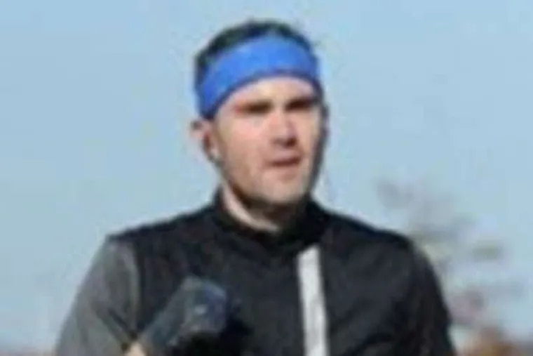 """Aubin in his current running form. """"Broad Street will be the conclusion of a journey that seemed impossible,"""" he said."""