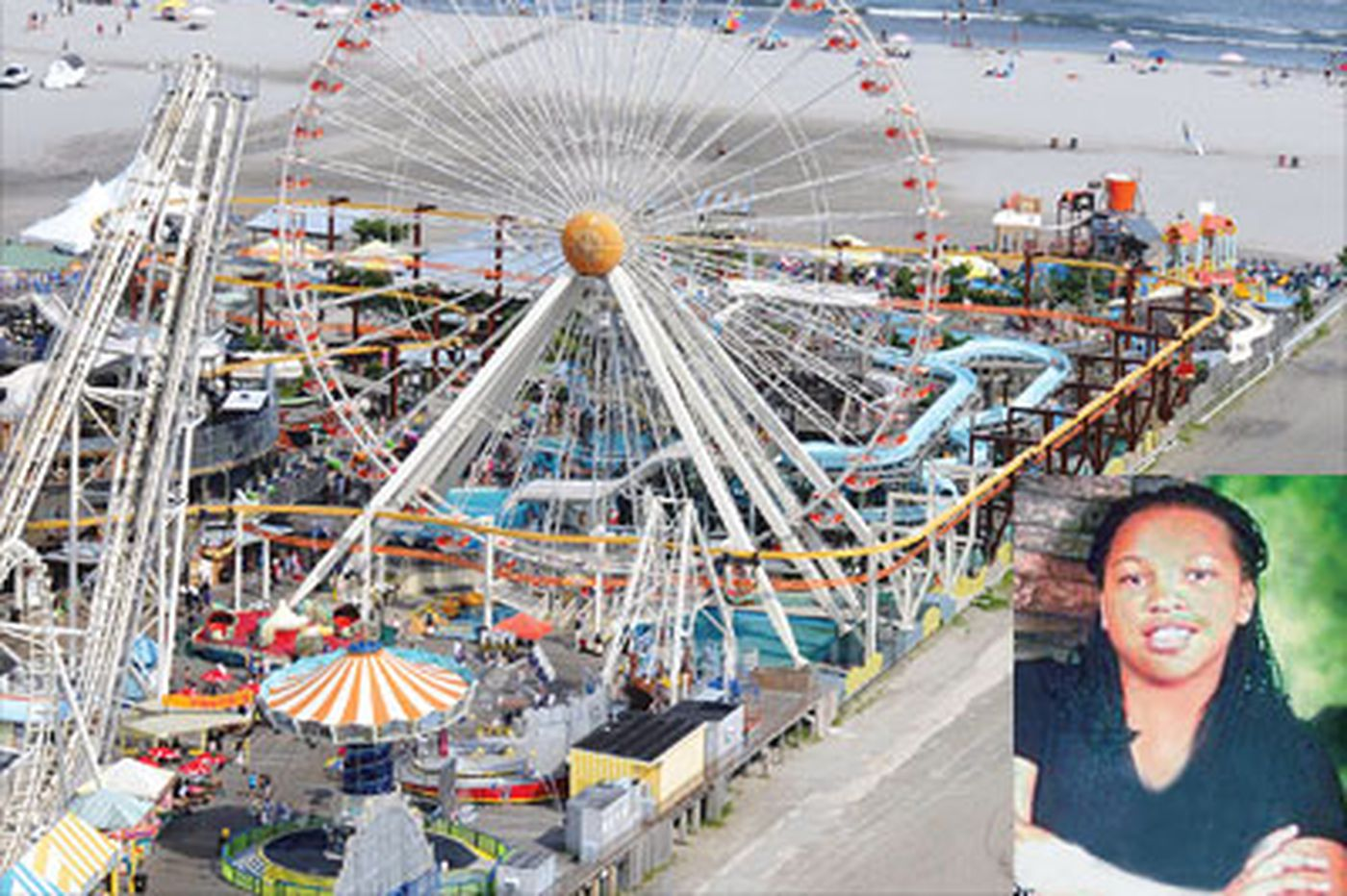 Horror in Wildwood as girl, 11, falls to her death