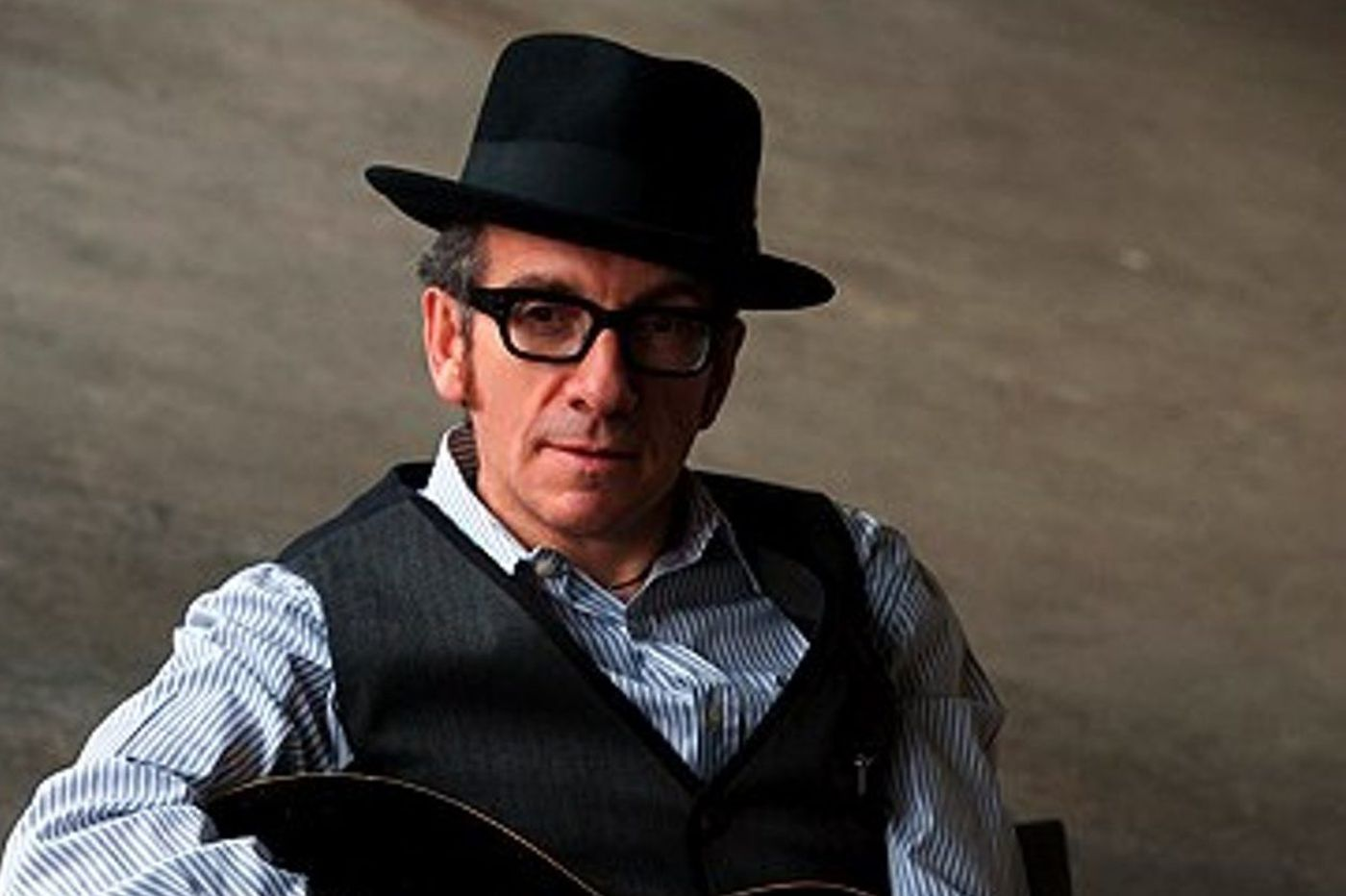 Elvis Costello is recovering from successful cancer surgery. And he's coming to Atlantic City this fall