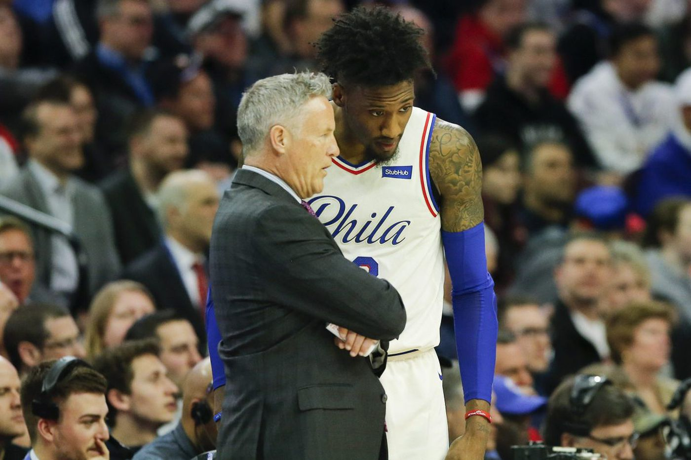 Brett Brown and Bryan Colangelo orchestrated Sixers' better-than-expected season